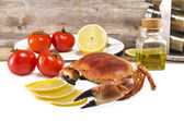Prepared crab — Stock Photo
