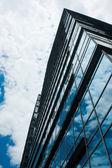 Glass skyscraper — Stock Photo