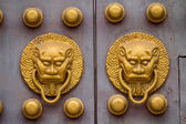 Doors of ancient Chinese — Stock Photo