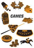 Games — Stock Vector