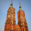 Cathedral in Wroclaw Poland — Stock Photo