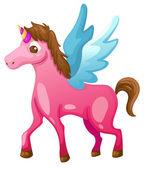 Bellissimo unicorno — Vettoriale Stock