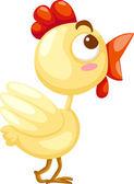 Cute chicken — Stock Vector