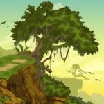 Beautiful Landscape — Stock Vector #43424543