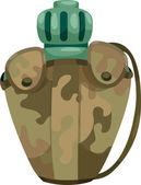 军队水食堂 — 图库矢量图片