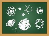 образования blackboard — Cтоковый вектор