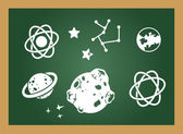 Education blackboard — Stock Vector