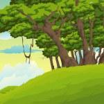 Beautiful Landscape — Stock Vector #43431763