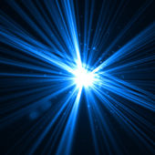 Abstract lighting flare — Stock Photo