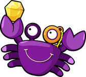 Crab — Stock Vector