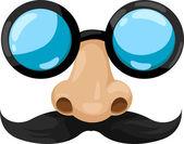 óculos do palhaço — Vetorial Stock