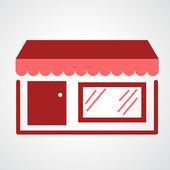 Storefront icon — Wektor stockowy