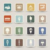 Ice Cream icon — Stock Vector