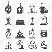 Rip icons — Stock Vector