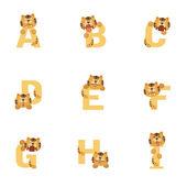 アルファベット - i — ストックベクタ