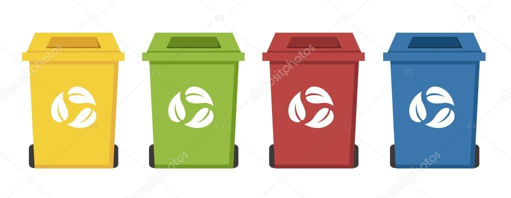 Contenedores de reciclaje color diferente archivo - Contenedores de reciclar ...