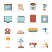 Electronic home icon — Stock Vector
