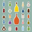 Bottle icons — Stock Vector #45220331