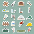 Carpentry icons — Stock Vector
