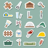 Carpentry icons — Vector de stock