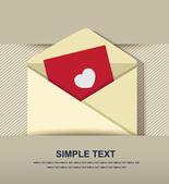 Ikona obálky — Stock vektor