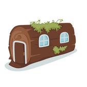 Tree house vector — Stock Vector