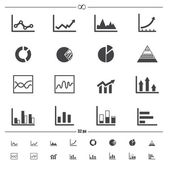 Infographics icons .vector eps10 — Stock Vector