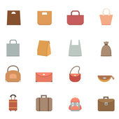 Bag icons vector eps10 — Stockvector