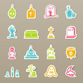 Rip icons set vector — Stock Vector