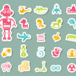 Toys icon vector — Stock Vector #50981315