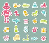 Toys icon vector — Stock Vector
