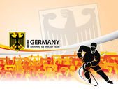 Germany - Ice Hockey National Team — Stock Vector