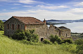 Rural landscape from Umbria — Stock Photo