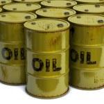 Oil barrels — Stock Photo #43413699