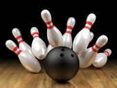 Strike! — Stock Photo