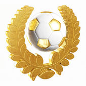 Soccer champion — Stockfoto
