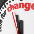 Time for change — Foto de Stock