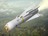 Air-to-ground missile — Stock Photo