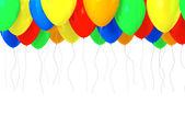 Multicolored baloons — ストック写真