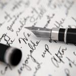 Handwritten letter — Stock Photo #43430277