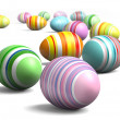 Painted eggs at Easter — Stock Photo #43439341