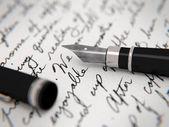El yazısıyla mektup — Stok fotoğraf