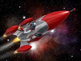 Cohete espacial — Foto de Stock