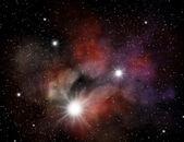 星云 — 图库照片