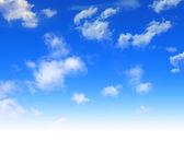 Klidný obloha — Stock fotografie