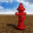 Hydrant in the desert — Stock Photo #43491077