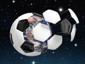 Soccer world chanpionship — Stock Photo