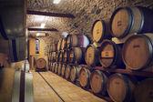 Ancient wine cellar — Stock Photo