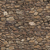 Stone wall seamless texture — Stock Photo