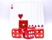 Gambling objects — Stock Photo